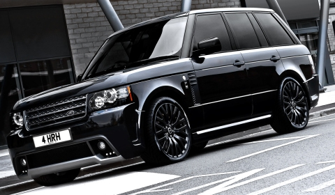 Official Range Rover Westminster Black Label Edition by A Kahn Design