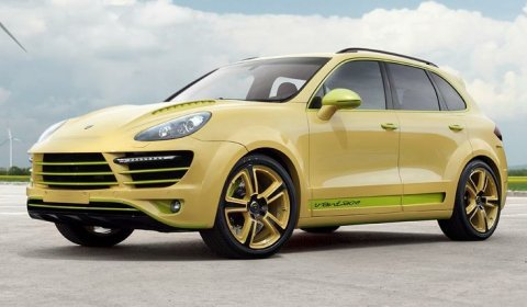 Official Top Car Cayenne Vantage 2 Lemon