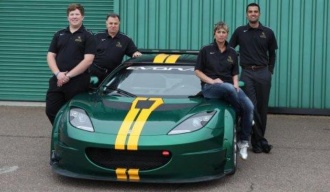 Official Upgraded Lotus Evora GTC McMahon Team