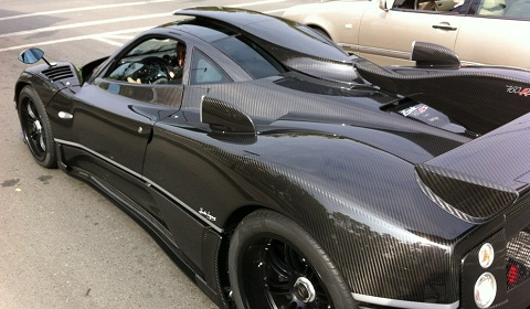 Pagani Zonda 760 RS Spotted in Chile