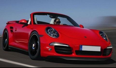 Render: 2013 Porsche Turbo Cabrio