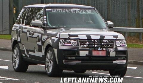 Range Rover Spyshot