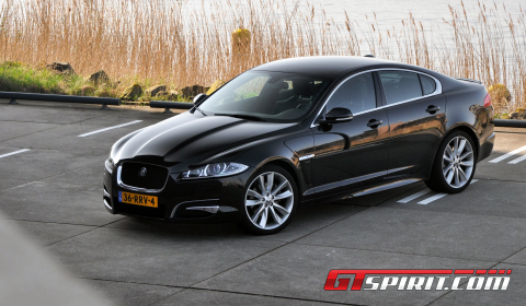 Road Test Jaguar XF 2.2d 01