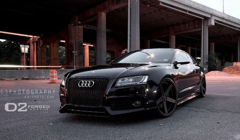 Audi S5 on D2Forged Wheels