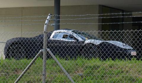 Spyshots McLaren F1 Successor