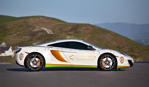 Taylor Lynn Foundation McLaren MP4-12C