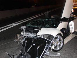 Car Crash: Lamborghini Murcielago LP640 Roadster