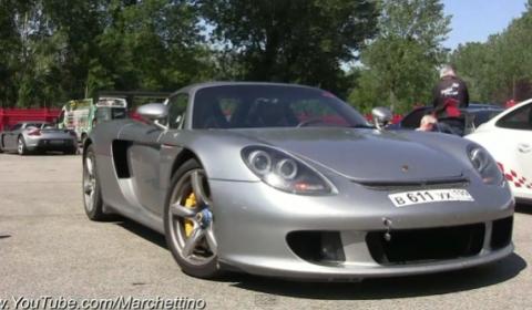 Video 770hp Porsche Carrera GT Straight Pipes