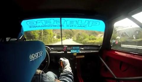 Video Audi Sport Quattro by KEMRacing at Isle of Man