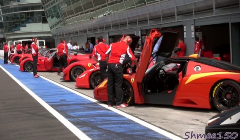 Video Behind the Scenes Ferrari 599XX and FXX at Monza Italy