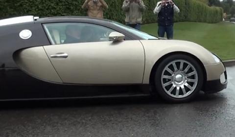 Video Bugatti Veyron with Three People Onboard