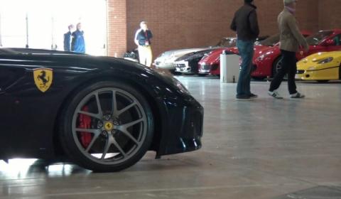 Video Ferrari Tribute to Mille Miglia Paddock Overview