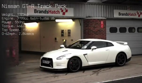 Video Nissan GT-R Track Pack vs Porsche 997 Turbo S