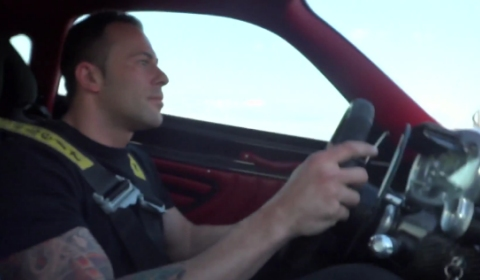Video Pagani Zonda Development Car Test Drive