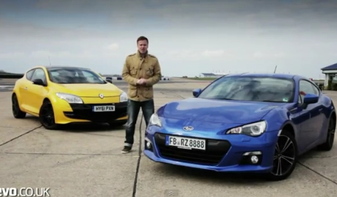 Video Renaultsport Megane 265 Trophy vs Subaru BRZ