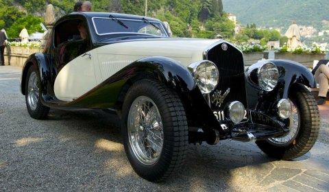 Villa d'Este 2012 1933 Alfa Romeo 6C 1750 GS
