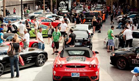 Bullrun 2012 Supercars