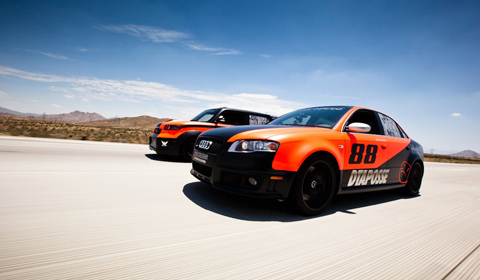 DTA Posse Audi RS4 and Scion xb