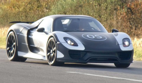 Spyshots Porsche Testing Its 918 Spyder