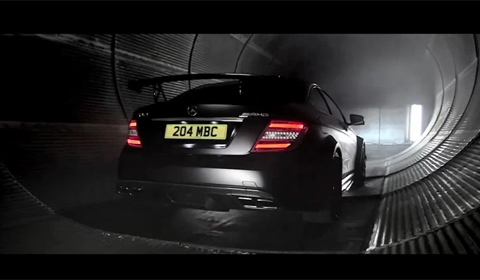The Dark Side of the Mercedes C63 AMG Black Series