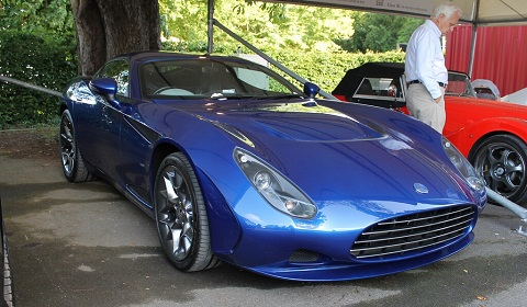 AC 378 GT Zagato at Goodwood Festival of Speed 2012