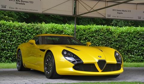 Alfa Romeo TZ3 Stradale at Goodwood 2012