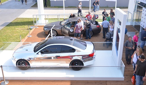 BMW at Goodwood Festival of Speed 2012