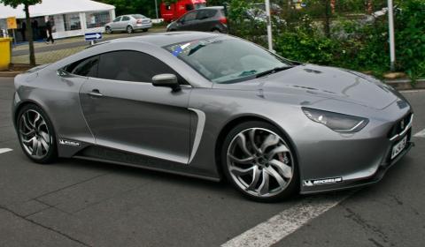 Exagon Motors Furtive-eGT Spotted at Nurburgring