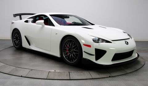 For Sale Lexus LFA Nurburgring Edition with Red Interior