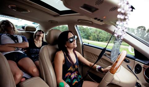 Team Texas In-Car