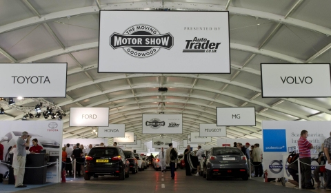 Goodwood Geared Up for Moving Motor Show 2012
