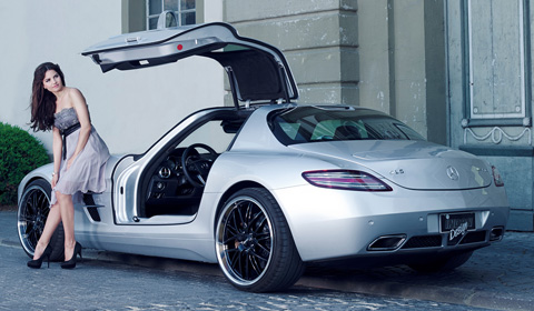 Inden Design Mercedes SLS & Katja Runiello