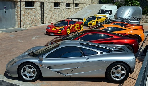 McLaren F1 Owners Club - 20th Anniversary Meeting