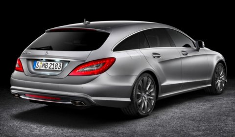 Official 2013 Mercedes-Benz CLS Shooting Brake