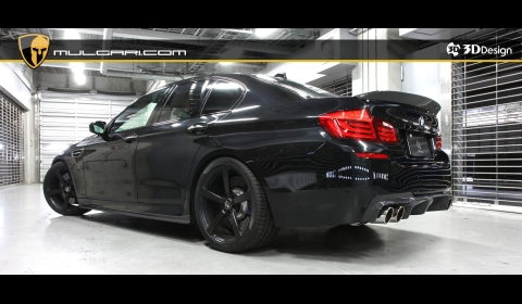 Official BMW F10M M5 by 3D Design 01