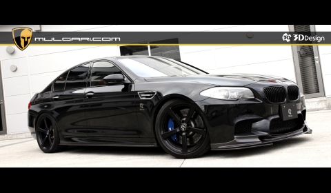 Official BMW F10M M5 by 3D Design