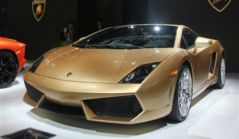 Official Lamborghini Gallardo LP560-4 Gold Edition - China Only