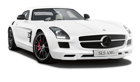 Official Mercedes SLS AMG Matte Edition (White or Black) Only Japan