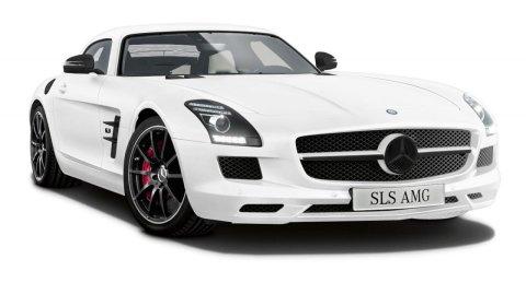 Official Mercedes SLS AMG Matte Edition (White or Black) Only Japan