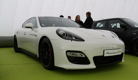 Porsche Panamera GTS at Goodwood Festival of Speed 2012