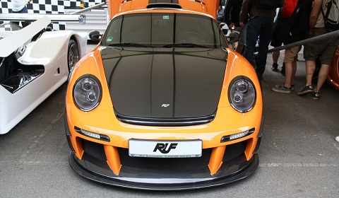 RUF CTR3 Clubsport at Goodwood Festival of Speed 2012