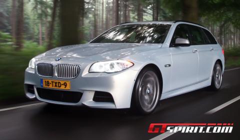 Road Test 2012 BMW M550d xDrive Touring