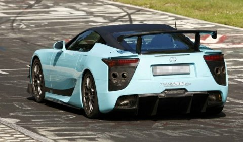 Spyshots Lexus LFA Final Edition Spotted at the Nurburgring 01