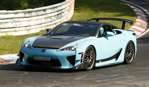 Spyshots Lexus LFA Final Edition Spotted at the Nurburgring