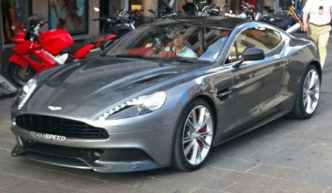 2013 Aston Martin Vanquish on The New 2013 Aston Martin Vanquish Mk2 Has Been Shared By Our Friend