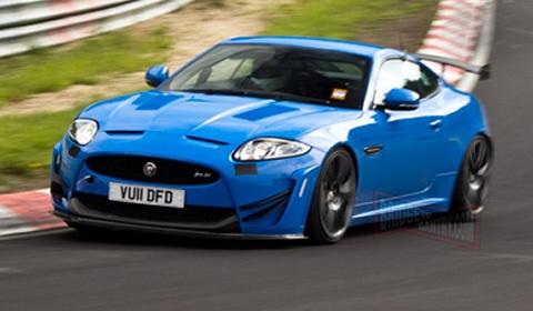 Spyshots Track-Biased Jaguar XKR-S Nurburgring Edition