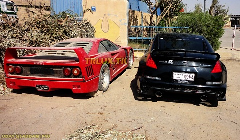 Uday Hussein S Abandoned Ferrari F40 Spotted In Iraq