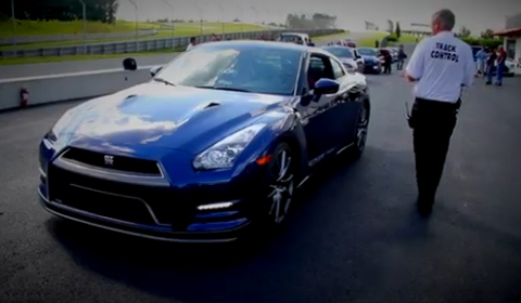 Monticello Motor Club >> Video 2013 Nissan Gt R Laps Monticello Motor Club Gtspirit