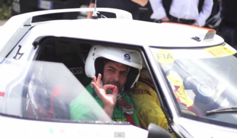 Video Chris Harris Shotgun in Lancia Stratos and Delta S4