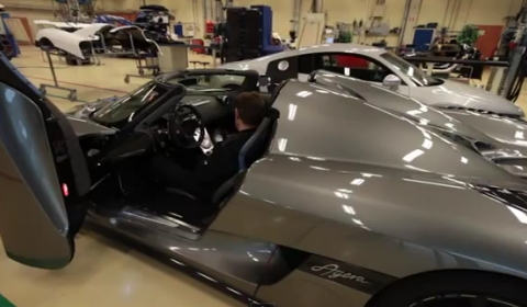 Video DRIVE Visits Koenigsegg in Sweden
